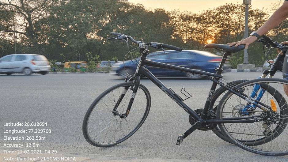 Cyclethon - SCMS NOIDA