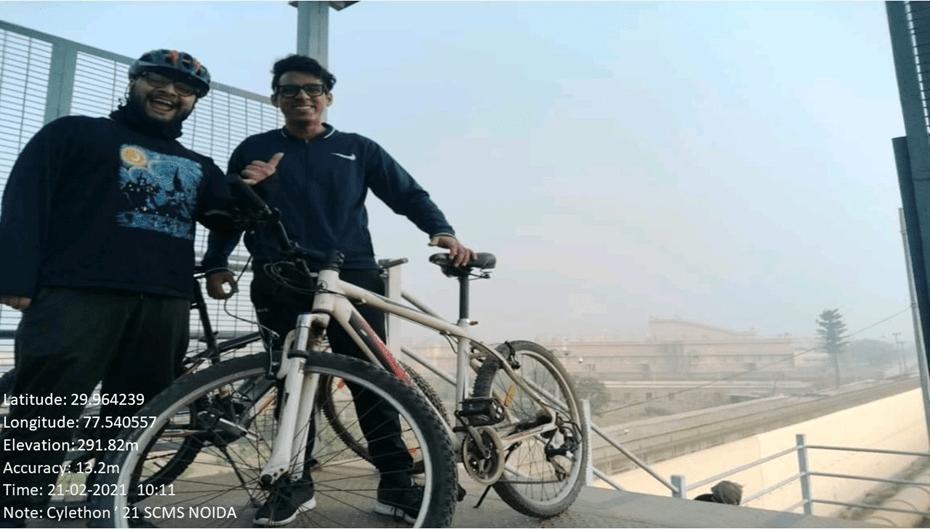SCMS NOIDA - Cyclethon
