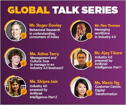 Global talk series SCMS NOIDA
