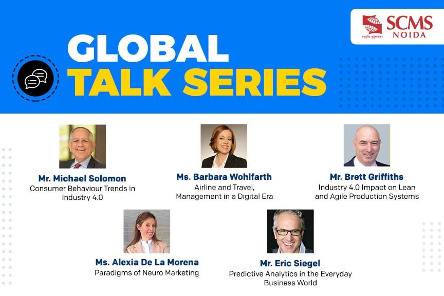 Global talk series by SCMS NOIDA