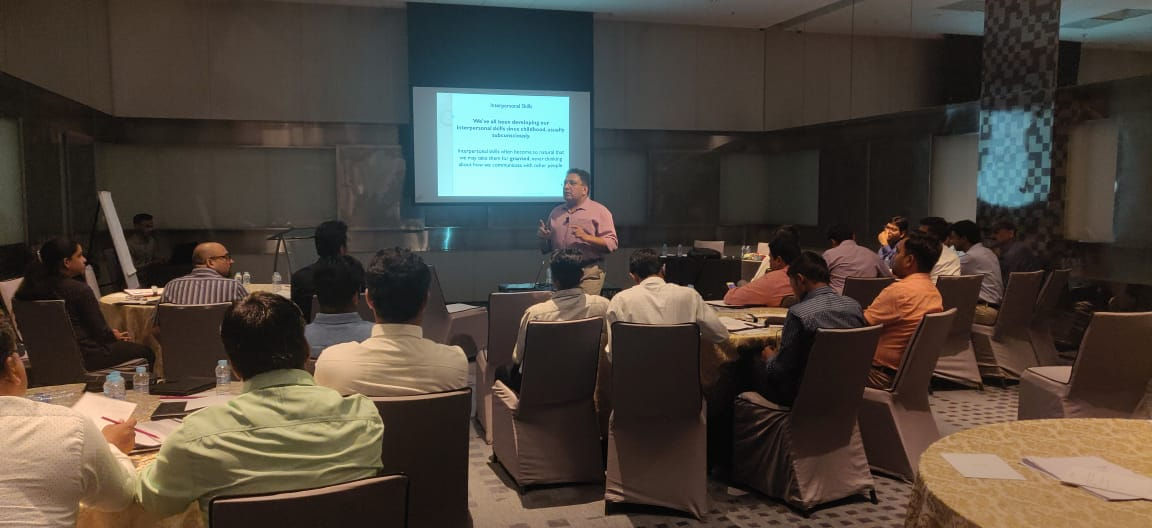 Interpersonal skills workshop SCMS NOIDA