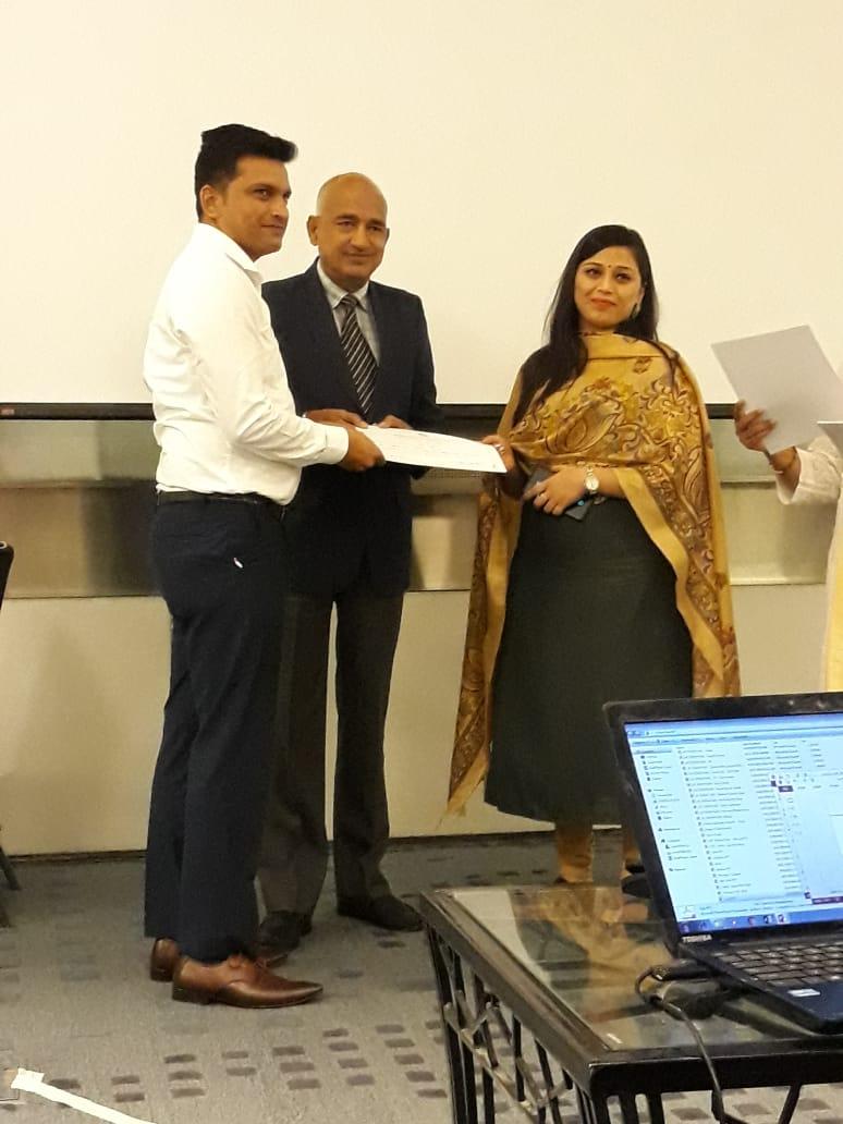 Awards at SCMS NOIDA MDP