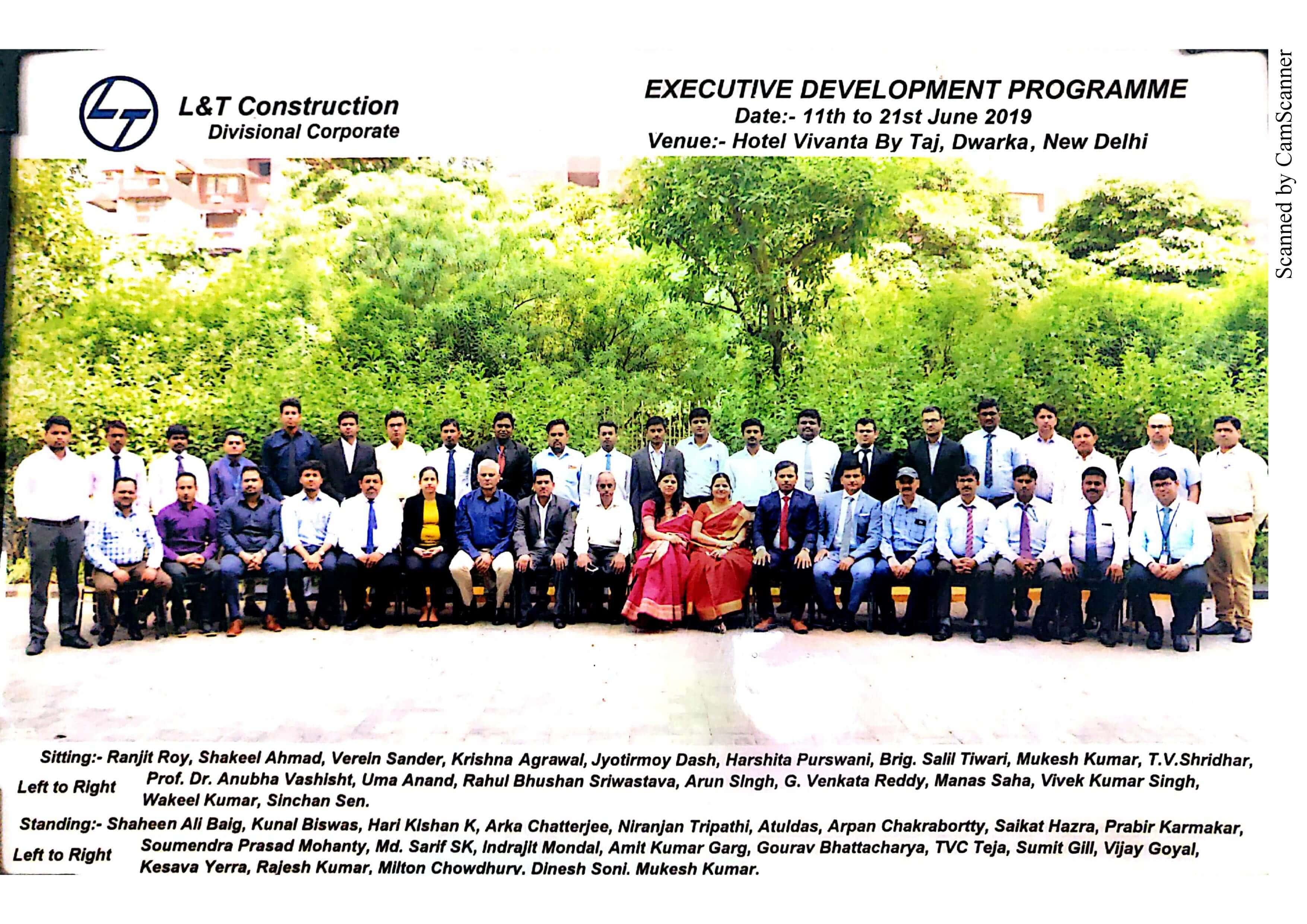 SCMS NOIDA Executive development program 2019