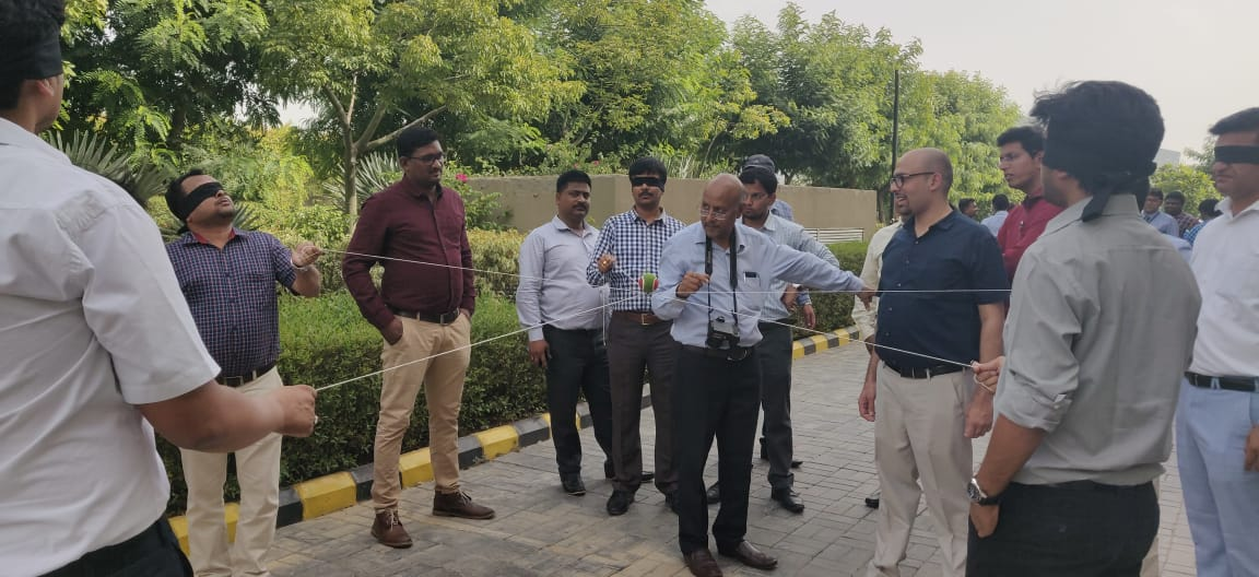 Group activity in MDP Symbiosis NOIDA