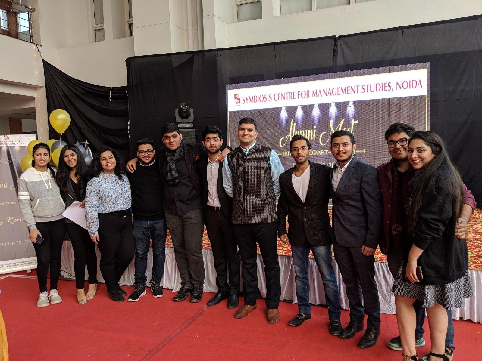 2nd edition Alumni meet SCMS NOIDA 2018