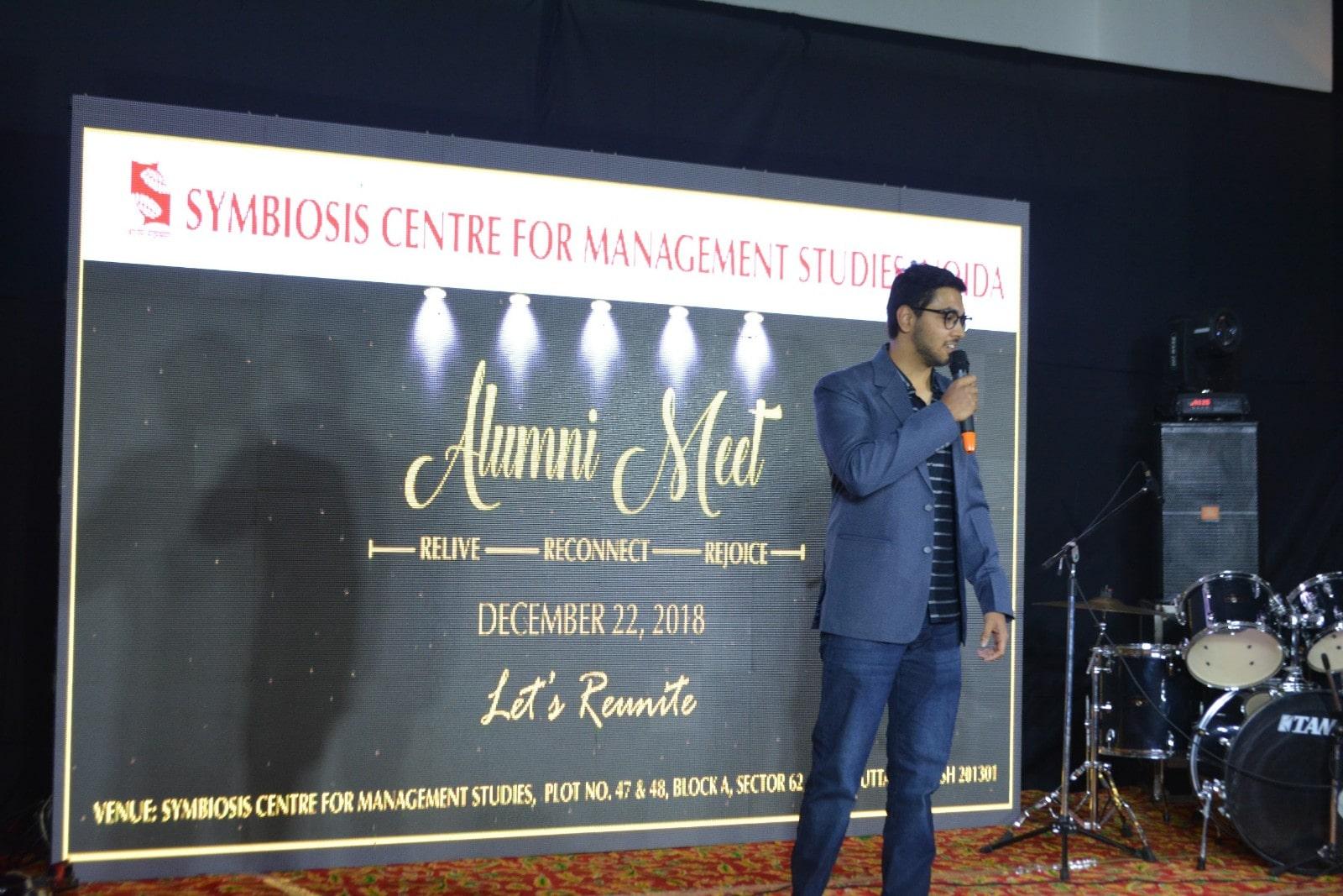 Alumni Meet 2018 SCMS NOIDA