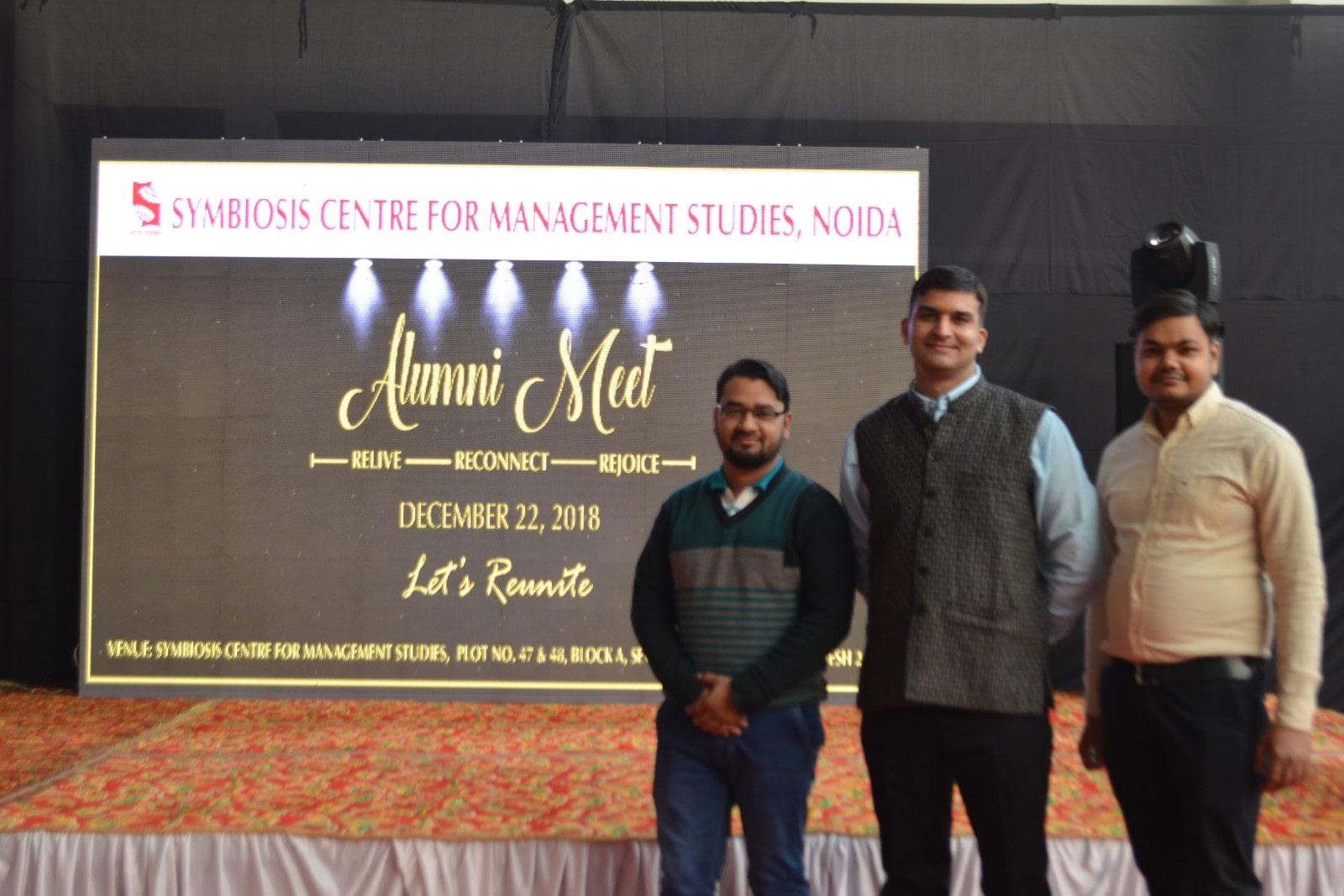 Alumni of 2018 SCMS NOIDA