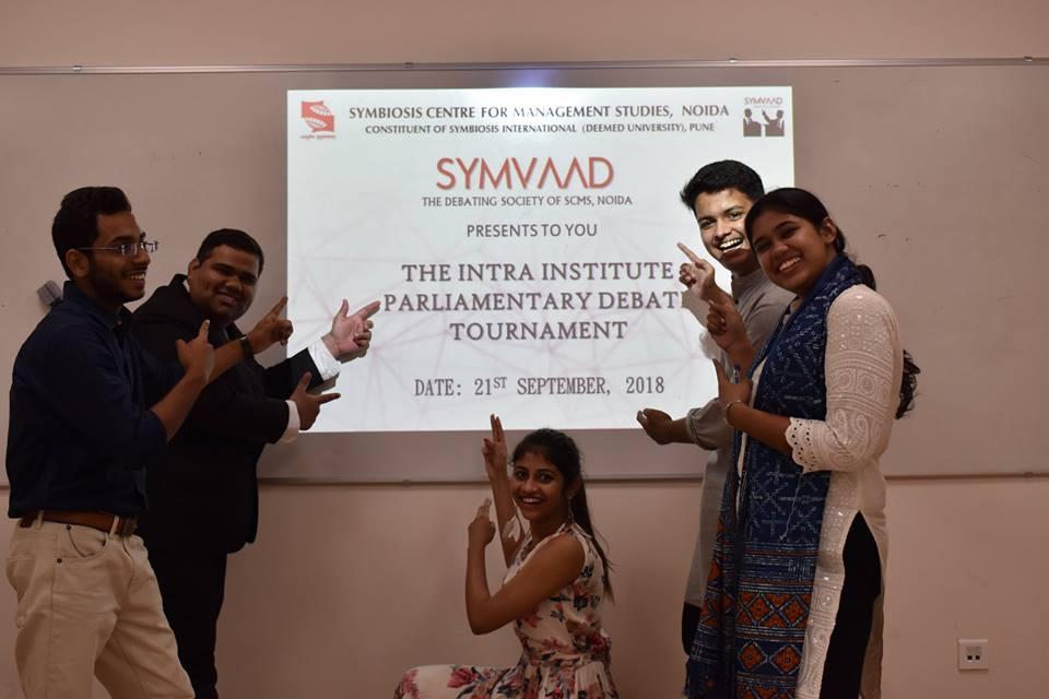 SCMS NOIDA Symvaad - 2018