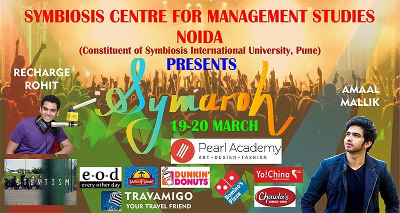 Symaroh event SCMS NOIDA