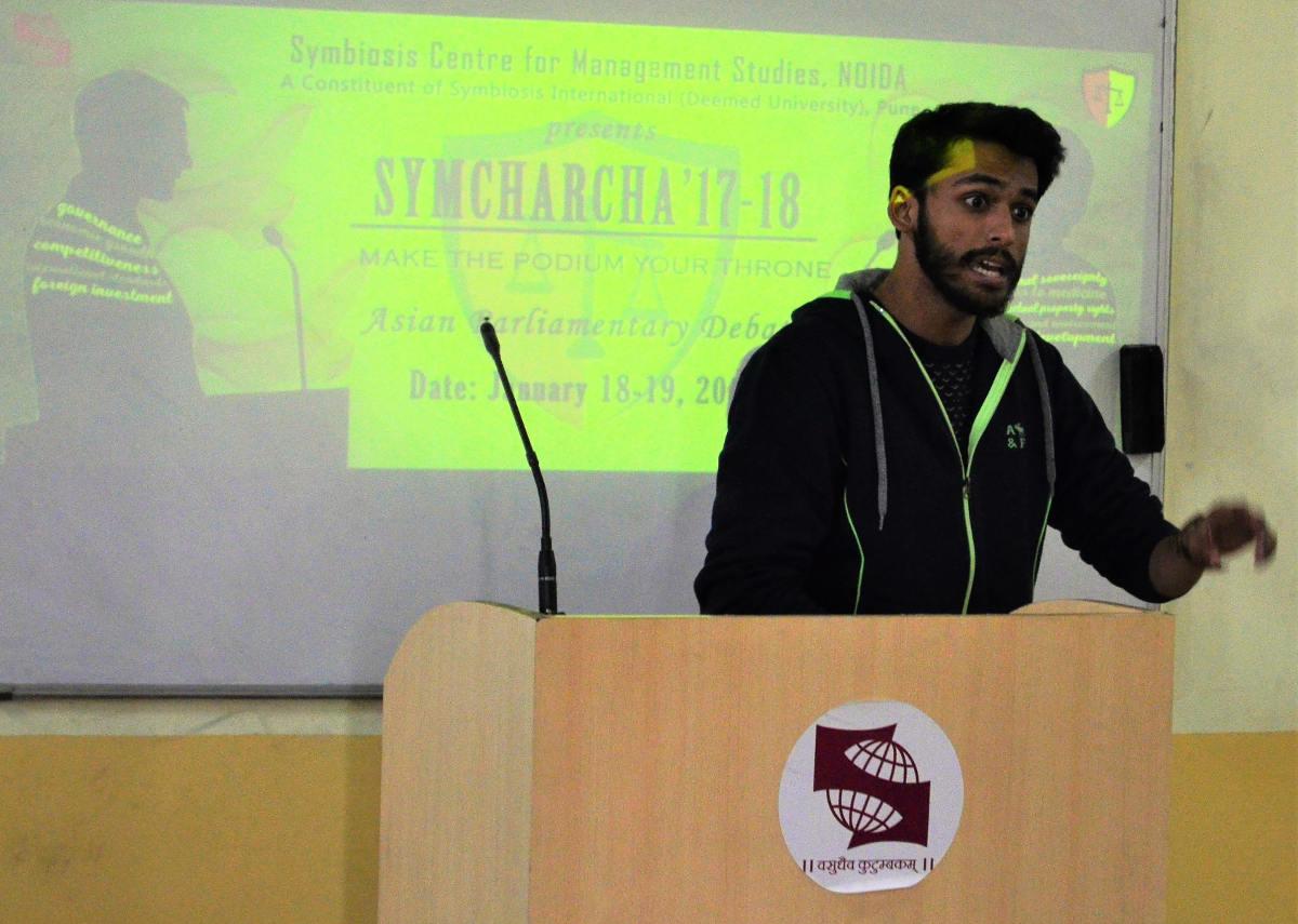 symcharcha - SCMS NOIDA 2018
