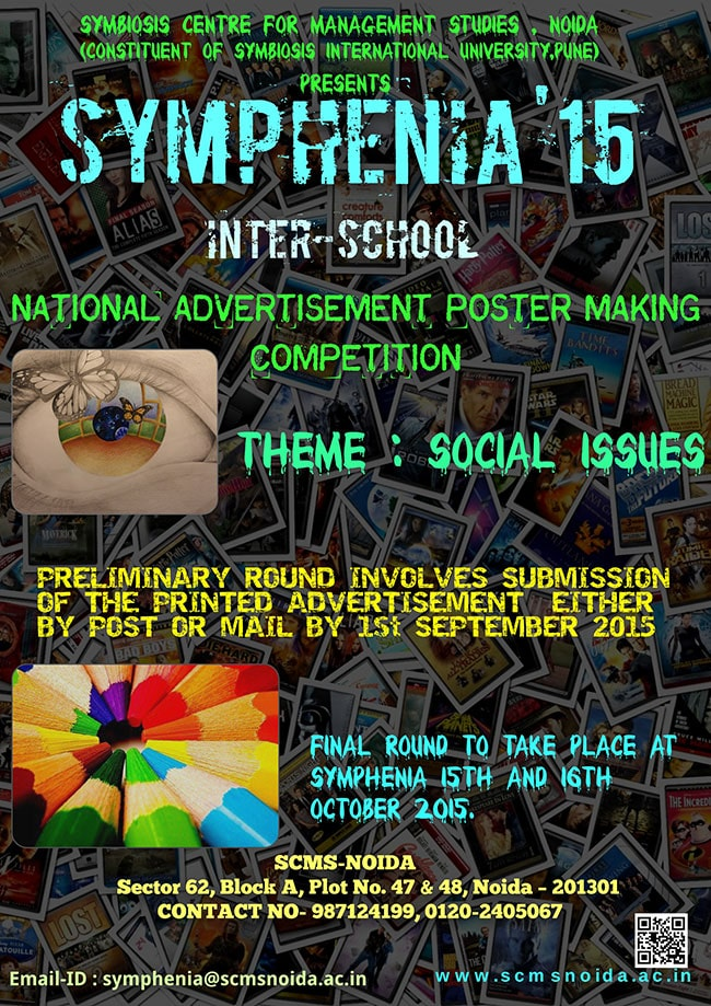 Poster Making Competition SCMS NOIDA