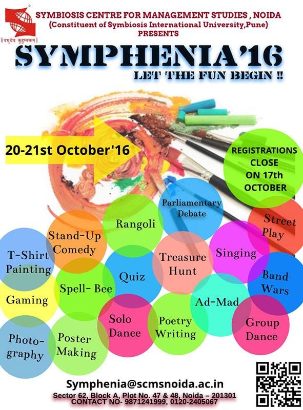 symphenia 2017 - SCMS NOIDA