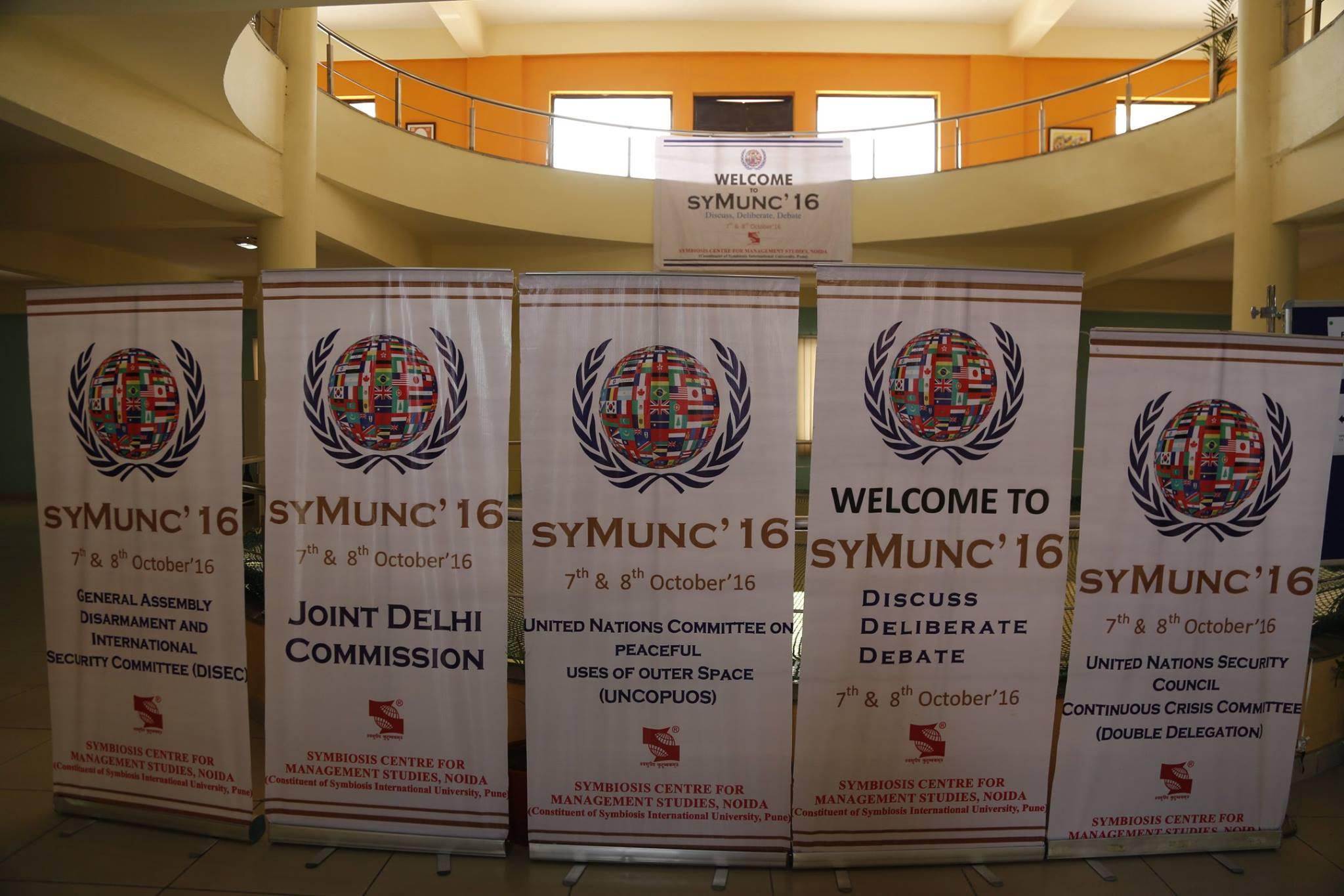 Symunc SCMS NOIDA - 2016