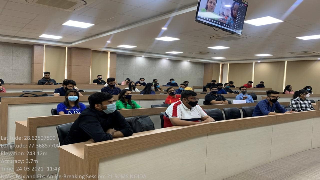 SCMS NOIDA Mix and Fix Session