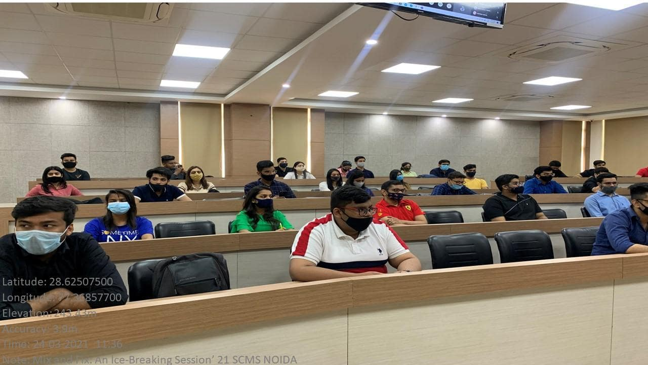 Mix and Fix Session at SCMS NOIDA