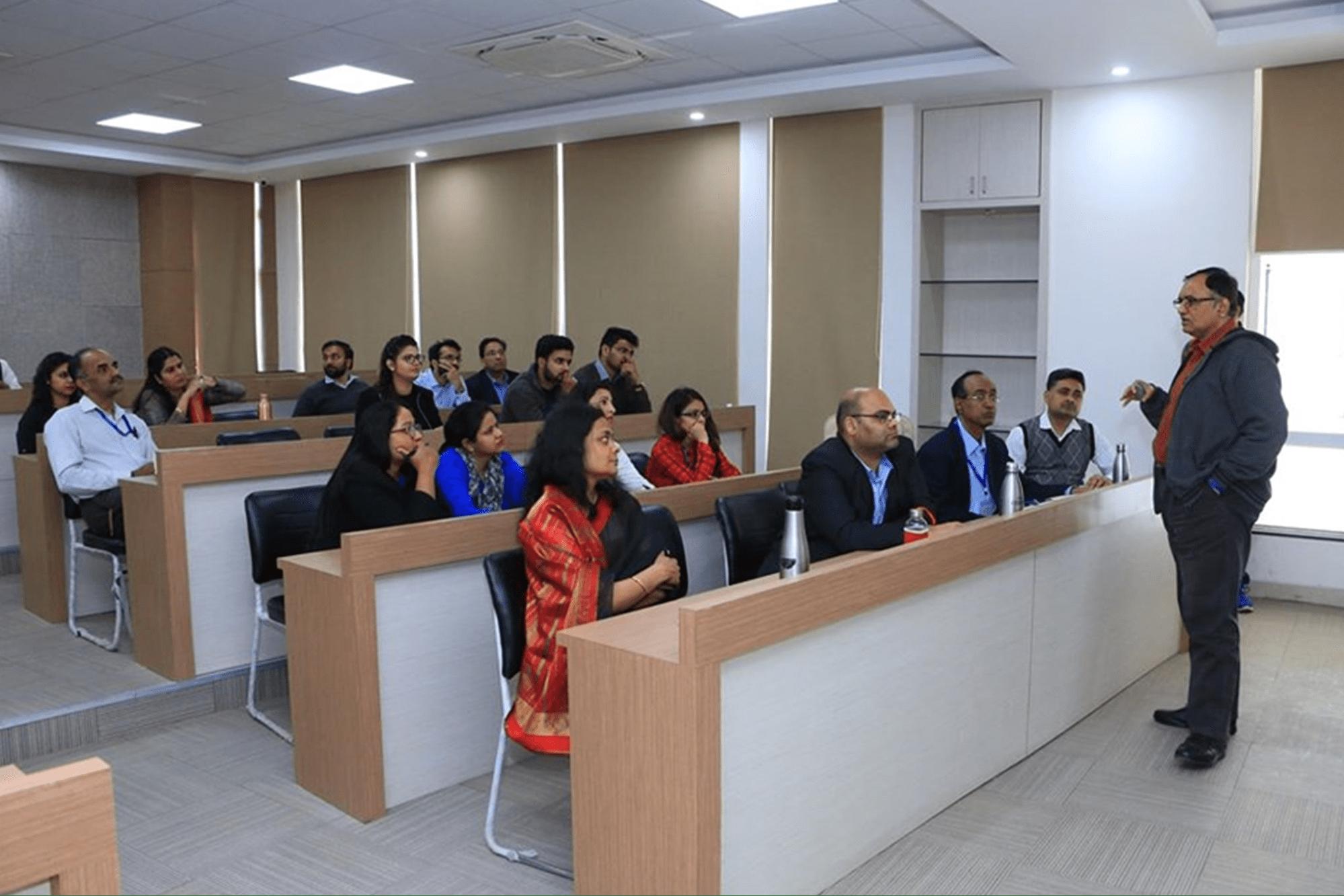 Faculty Talks at SCMS NOIDA
