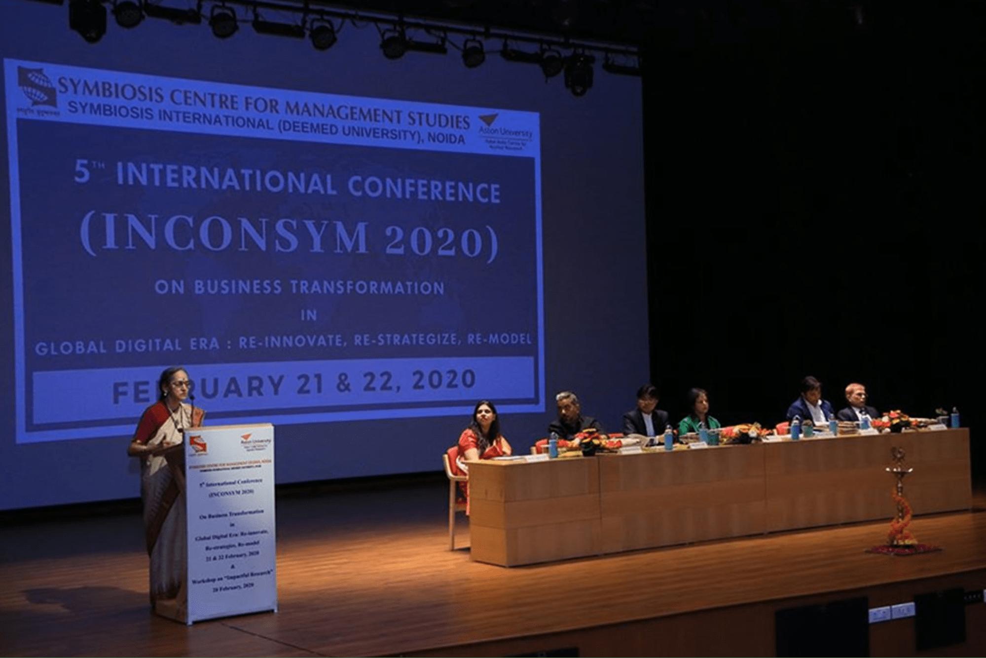 International Conference SCMS NOIDA