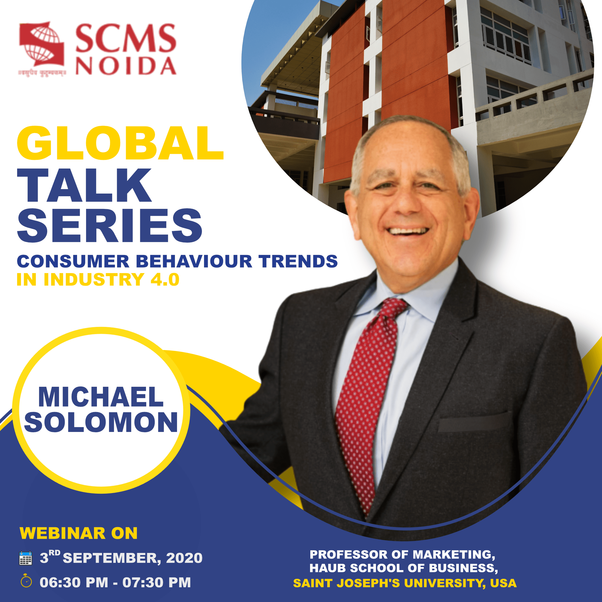 Michael Solomon at SCMS NOIDA