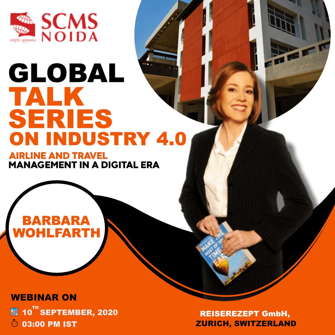 Barbara at SCMS NOIDA