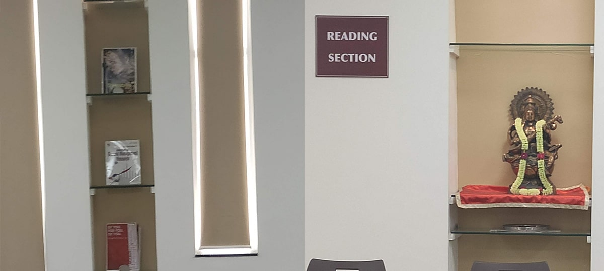 SCMS NOIDA reading section