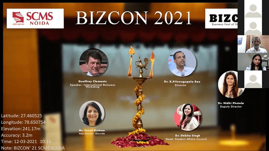 BIZCON SCMS NOIDA 2021