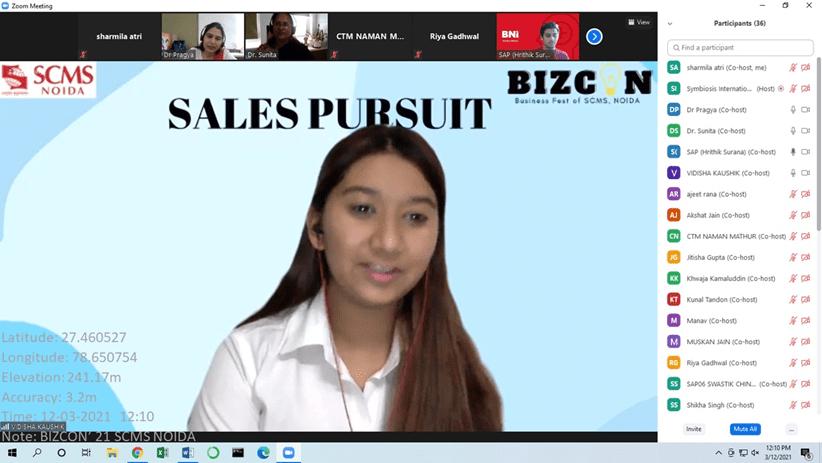 BIZCON 2021 - SCMS NOIDA